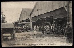 CPA ANCIENNE FRANCE- CHATEAUROUX (36)- AVIATION- CAMP DE LA MARTINERIE- 3° Rt. DE CHASSE- TRES BELLE ANIMATION GROS PLAN - Chateauroux