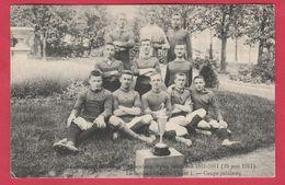 Alsemberg - Pensionnat St-Victor - Fête Jubilaires 1861-1911 - Football Club St-Victor ( Verso Zien ) - Beersel