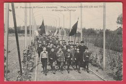 Alsemberg - Pensionnat St-Victor - Fête Jubilaires 1861-1911 - 4e Groupe Du Cortège - 1913 ( Verso Zien ) - Beersel