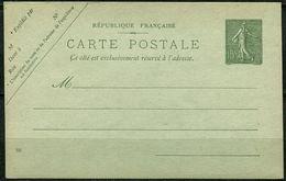 Entier N° 130-CP1 Y Et T, N° 74 ACEP - Postal Stamped Stationery