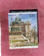 SERBIA SRBIJA SERBIE 2007 TOURISM TURISTICA BELGRADE TOWN CITTA' DI BELGRADO DIN 100d USATO USED OBLITERE' - Serbia