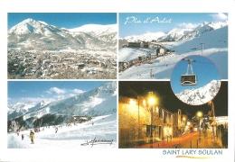"""65 - La Station De Ski De Saint-Lary-Soulan Et Du Pla D'Adet - Multivues (4) éd. J. Masson """"Pyrénées"""" N° 20480 (C. 2002) - Frankreich"""