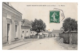 41 LOIR ET CHER - SAINT MARTIN DES BOIS La Mairie - Other Municipalities