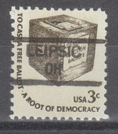 USA Precancel Vorausentwertung Preo, Locals Ohio, Leipsic 835,5 - Vereinigte Staaten