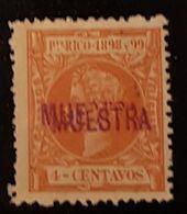 Puerto Rico N° 138. Muestra. - Puerto Rico