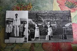 Old Postcard - ARCHERY - USSR OLYMPIC CHAMPIONS  -  1981 Archer - Tir à L'Arc