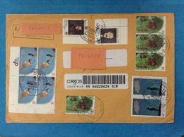 STORIA POSTALE POSTAL HISTORY LETTER REGISTRATED SAN JOSE COSTA RICA STAMPS USED - Costa Rica