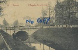 Tournai :  L'aqueduc Place Combrez  ( 1910 ) - Tournai