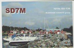 Qsl Suede - Blekinge Island - Radio Amatoriale