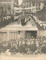 35 RENNES 8 Cartes Du Souvenir Des Fetes Du Double Couronnement De Notre Dame De Bonne Nouvelle Et Notre Dame Des Miracl - Rennes