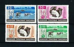 Zanzibar  Nº Yvert  320/3  En Nuevo - Zanzibar (1963-1968)