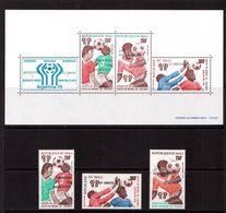 Mali-1978,(Mi.657-659,Bl.11),Football, Soccer, Fussball,calcio,MNH - World Cup