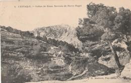 CPA 13 MARSEILLE L'ESTAQUE VALLON DE RIAUX BERCEAU DE PIERRE PUGET - L'Estaque