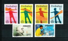 Zimbabwe  Nº Yvert  25/6-43/4  En Nuevo - Zimbabwe (1980-...)