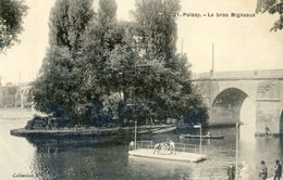 78 - Poissy - Le Bras Migneau - Bac Manuel - Poissy