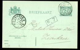 HANDGESCHREVEN BRIEFKAART Uit 1905 Gelopen Van ROTTERDAM Naar ZIERIKZEE (10.661v) - Postal Stationery