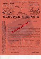 87- LIMOGES- LETTRE ELEVAGE VIENNOIS-5 COURS BUGEAUD-PORC COCHON RACE LIMOUSINE-ANGLAISE-METIS-MOUTONS-AGNEAUX BREBIS- - Agriculture