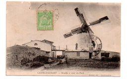 Castelnaudary - Moulin à Vent Du Pech- Voir état - Castelnaudary
