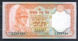 506-Népal Billet De 20 Rupees 1988 Sig.11 - Nepal