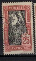TUNISIE     N° YVERT  :    COLIS POSTAUX  14    ( 3 )        OBLITERE       ( O 02/57 ) - Tunisia (1888-1955)