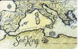 TARJETA DE ESPAÑA DE PREPAGO DE SEA KING (MAPA) - Spain