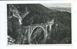 WIESENER - VIADUCT - Linie Davos - Filisur Der Rhätischen Bahn - Meerkämper 310 ( Zug - Train ) - GR Grisons