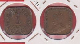 Straits Settlements / KM 32 / 1 Cent 1920 / TTB - Malaysia