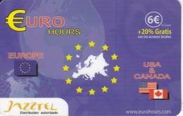 TARJETA DE ESPAÑA DE PREPAGO DE JAZZTEL (EUROPA) - Spain