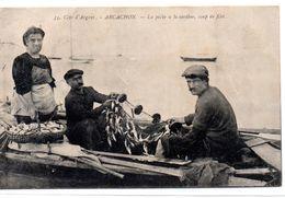 Gironde : Arcachon : La Pêche à La Sardine - Arcachon
