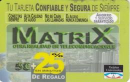 TARJETA DE ESPAÑA DE PREPAGO DE MATRIX 25% DE REGALO - Spain