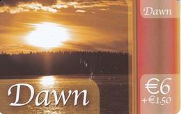 TARJETA DE ESPAÑA DE PREPAGO DE DAWN (SUNSET-PUESTA DE SOL) - Spain