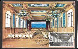 CAD  MONACO    MUSEE OCEANOGRAPHIQUE - Storia Postale