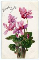 CPA FLEURS Cyclamen - Fleurs