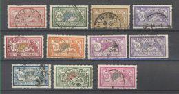 +++IMPECCABLE !!!  SERIE MERSON ANNEES 1900-20 OBLITERES    VOIR SCAN RECTO-VERSO - France