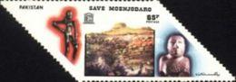 PAKISTAN MNH (**) STAMPS ( Save Mohenjo-Daro By The UNESCO -1976) - Pakistan