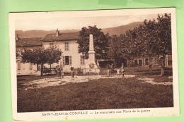 SAINT JEAN De GONVILLE - Le Monument Aux Morts De La Guerre - Animé - Ed. Michaux - 2 Scans - Ohne Zuordnung