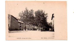 Azille - Avenue De La Gare -voir état - Carcassonne
