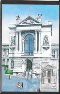 CAD  MONACO   /  CT  CINQUANTENAIRE DU MUSE    1910 - 1910 - Storia Postale