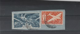 Cote Française Des Somalis - Djibouti - Yvert  PA1 + PA 13 Sur Fragment De Lettre 3/9/1947 - Lettres & Documents