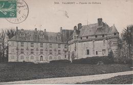 VALMONT  FACADE DU CHATEAU - Valmont