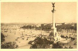 France - Gironde - Bordeaux - Place Des Quinconces Et Monument De Girondins - Yvon Nº 4 - 4683 - Bordeaux