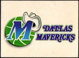 BASKETBALL - NBA - DALLAS MAVERICKS - MARCA - STICKER - Basketball - NBA