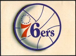 BASKETBALL - NBA - PHILADELPHIA 76ers - MARCA - STICKER - Basketball - NBA