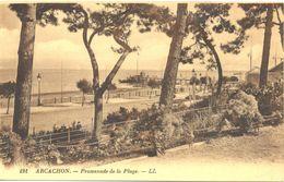 France - Gironde - Arcachon - Promenade De La Plage - Levy Neurdein Nº 191 - 4685 - Arcachon