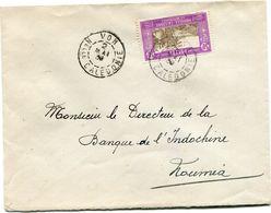 NOUVELLE-CALEDONIE LETTRE DEPART VOH 2 MAI 1939 Nelle CALEDONIE POUR LA NOUVELLE-CALEDONIE - New Caledonia