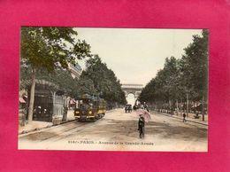 75 Paris, Avenue De La Grande Armée, Animée, Tram, Précursseur - District 17