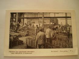 Remicourt (Liege) Fabrieken Jules Melotte - Gieterij - Eene Gieting No 4 // 19?? - Remicourt
