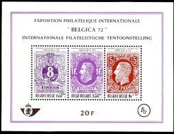 BE   BL48   XX   ---   Belgica 72 - Blocs 1962-....