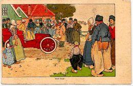 CPA Voiture Automobile Fantaisie Illustrateur Non Circulé - Voitures De Tourisme