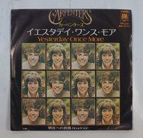 Vinyl SP :  Carpenters Yesterday Once More ( AM-200 1973 JPN ) - Disco & Pop